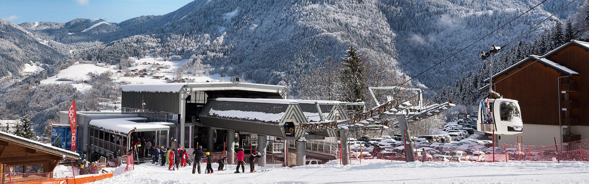 Roc d Enfer - Saint-Jean d Aulps La Grande Terche - Bellevaux La Chèvrerie  - Portes du Soleil - Ski domain 74 Haute-Savoie a3bda14ed9b0